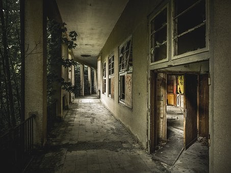 Lost Place, Horror, Abandoned Building, Abandoned