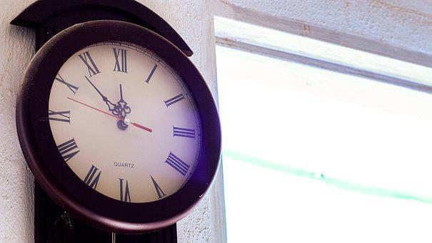 Time, Hour, Second, Minutes, Clock, Hands, Wall