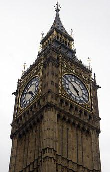 Big Ben, London, Landmark, Houses Of Parliament