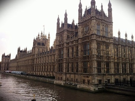 Parliament, London, Thames, England, Westminster