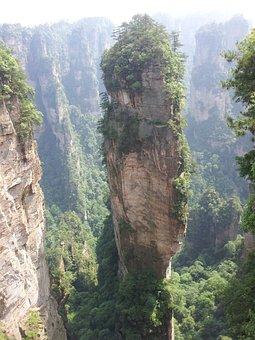 People's Republic Of China, Zhangjiajie, Mountain