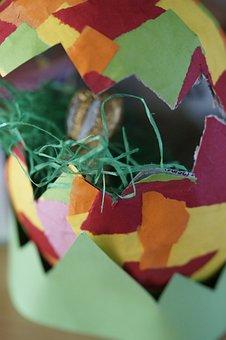 Do It Yourself, Handicraft, Paper Mache, Homemade