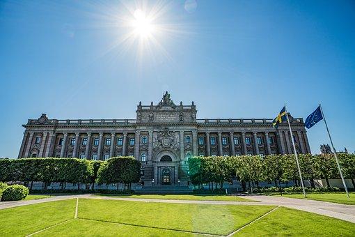 Stockholm, Parliament, Sweden, Architecture, Building