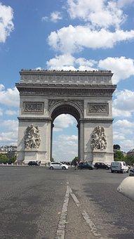 Arc De Triomphe, Paris, France, Places Of Interest