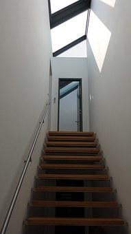 Staircase, Stairs, Light, Window, Roof Windows