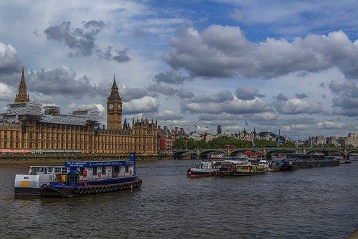Thames, Westminster, Bridge, England, London, Britain