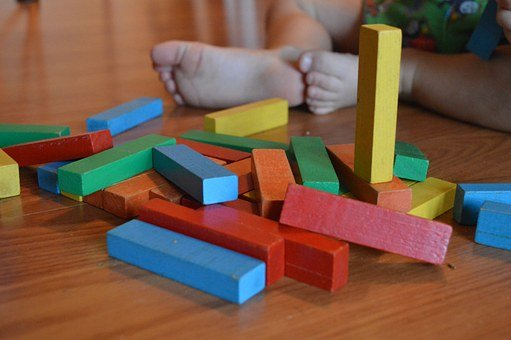 Blocks, Child, Toy, Education, Game, Childhood, Kid