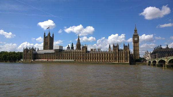 Uk Parliament, Houses Of Parliament, Uk, England