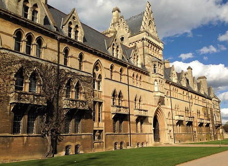Oxford, Christchurch, College, University, Architecture