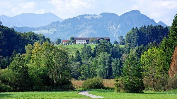 Landscape, Upper Bavaria, More Slowly Mountain