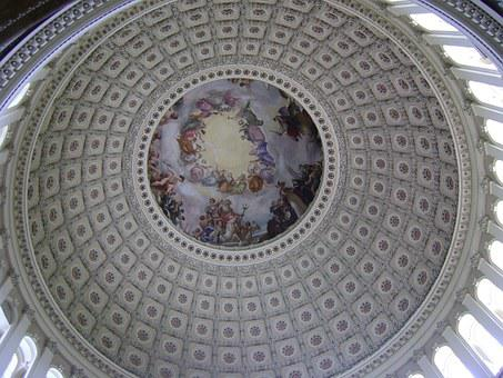 Us Capitol, Cupola, Rotunda, Washington Dc, Congress