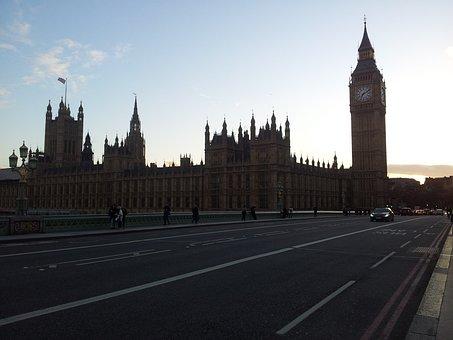 Big Ben, London, Westminster, Westminster Bridge