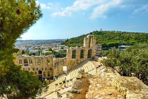 Athens, Acropolis, Ancient, Theatre, Parthenon, Greece