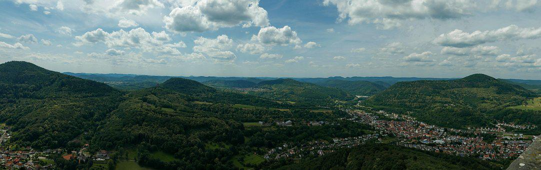 Palatinate, Trifels, Annweiler, Palatinate Forest, Hike