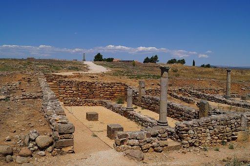 Numancia, Roman Remains, Archeology