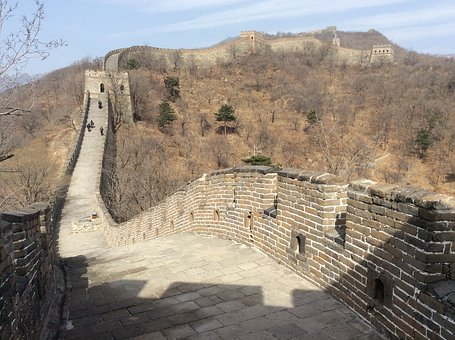 The, Great, Wall, China, Architecture, Historic