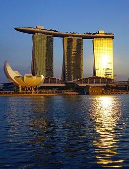 Singapore, Marina Bay Sands, Artscience Museum