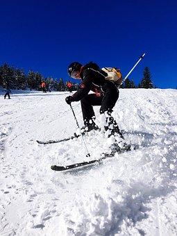 Skiing, Winter, Snow, January, Austria, Sport, Outdoor