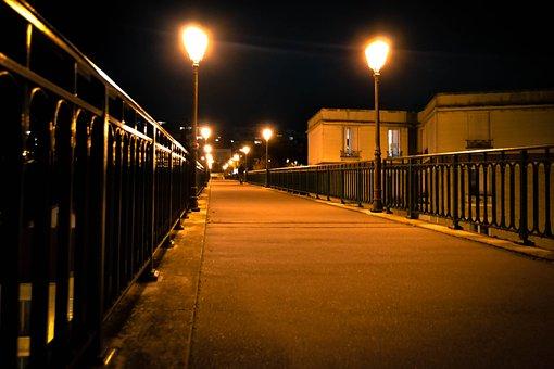 Bridge, France, Passage, Atypical, Path, Metal