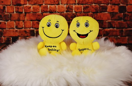 Smilies, Plush Toys, Cute, Funny, Happy, Cheerful