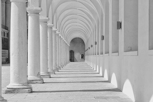 Germany, City, Architecture, Viale, White, Nero