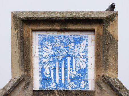 Coat Of Arms, Mosaic, Pere Shot Kills, Modernism, Tiles