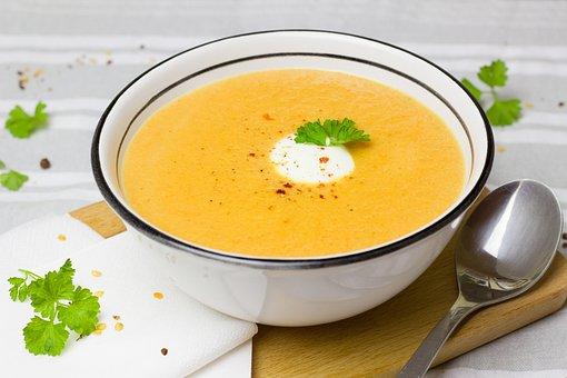 Soup, Carrot, Ginger, Food, Eat, Vegetables, Cook