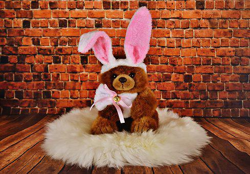 Easter, Soft Toy, Easter Bunny, Cute