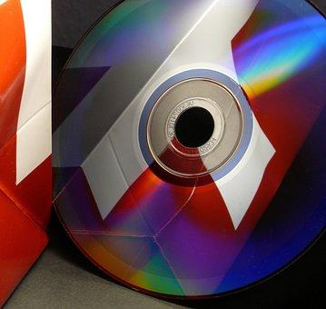 Dvd, Cd, Disk, Computer, Digital, Silver