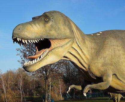 Dinosaur, Dino, Prehistoric Times, Replica, Reptile