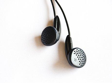 Headphone, In Ear, Music, Wired, Audio, Earphone