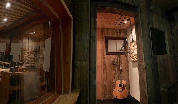 Guitar, Recording Studio, Music, Recording