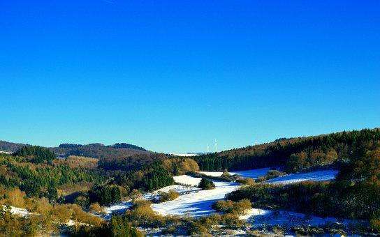 Eifel, Schneifel, Landscape, Germany, Holiday, Nature