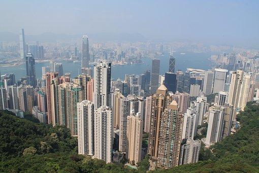 Hong Kong, City, Skyline, Hong Kong Skyline, Asia