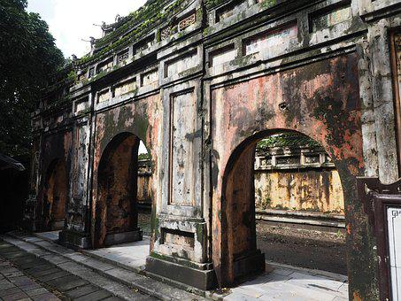 Vietnam, Hue, Palace, Heritage, Imperial, Arch, Gate