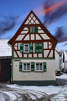 Lower-erlenbach, Frankfurt, Hesse, Germany, Old Town