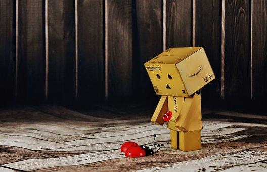 Lucky Guy, Lucky Ladybug, Good Luck, Danbo, Cute, Funny
