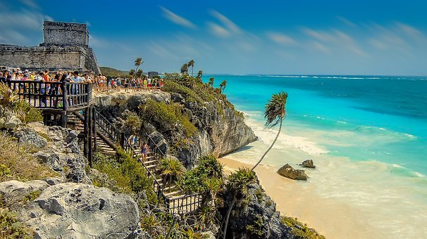 Tulum, Mexico, Beach, Beach In Mexico, Landscape, Ocean
