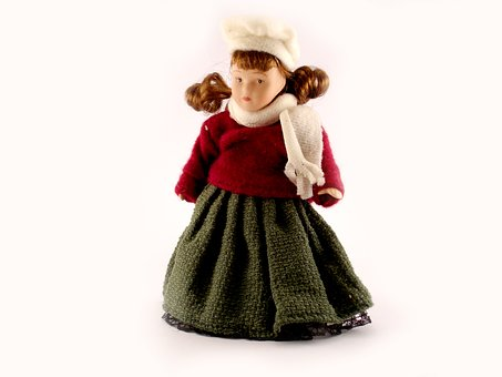 Doll, Toy, Old Toy, Cloth, Dress