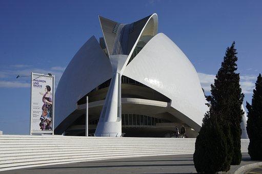 Palace Queen Sofia, Valencia, Architecture, Modern