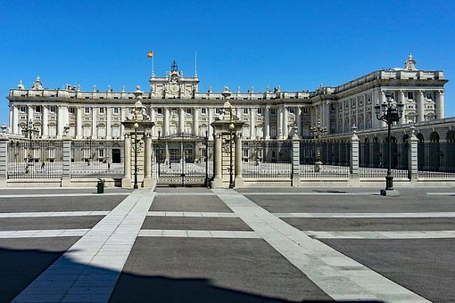 Palacio Real, Madrid, Spain, Palace, Places Of Interest