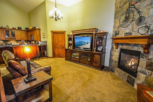 Real Estate, Interior, Living Room