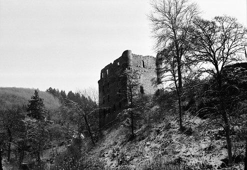 Burgruine Balduinseck, Castle, Ruin, Masters Live