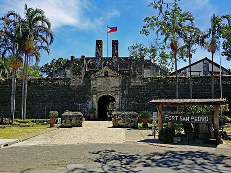Cebu, Philippines, Fort, San Pedro, Places Of Interest