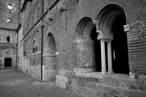 Chiusdino, Siena, Abbey, San, Galgano, Church