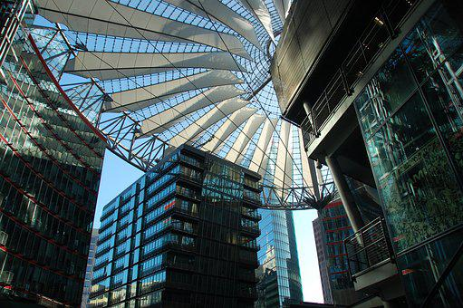 Sony Center, Berlin, Potsdam Place