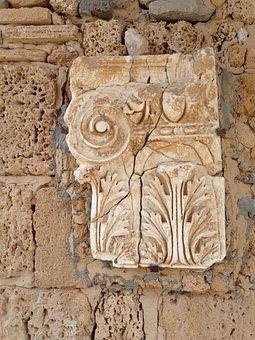 Tunisia, Ornament, Stone, Thread, Ancient Rome