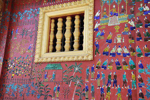 Wat Xieng Thong, Golden City Temple, Temple, Laos, Pray