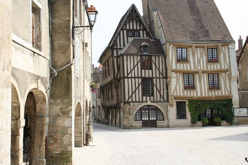Troyes, House, Corbel, Street, Old Town