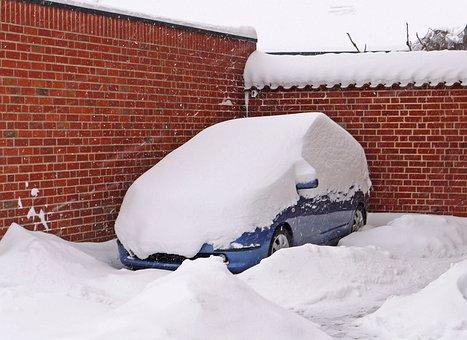 Snowdrift, Snowed In, Windy, Snow Mass, Impassable
